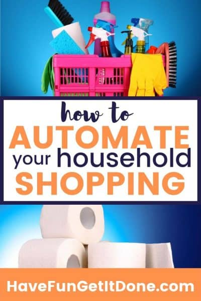 Household supplies and toilet paper